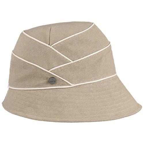 Chapeau en Tissu Lamaika Cloche Lierys chapeau en tissu chapeau d´ete Beige