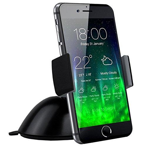 Wiegen Möbel (koomus Pro Armaturenbrett Windschutzscheibe Universal KFZ Halterung Halter Wiege Für Smartphones)