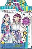 Make It Real- Blocco da Disegno Stilista: Fashion Design Sogno Digitale, Multicolore, 3203