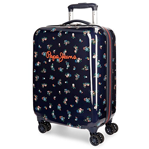 Pepe Jeans Sira Blue Rigid Cabin Trolley