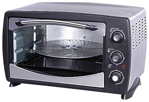 Havells 24 RPSS 24-Litre 1500-Watt Stainless Steel Oven Toaster Grill (Black)