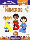 Pega Números. 3-4 Años