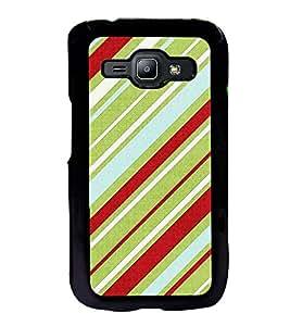 ifasho Designer Back Case Cover for Samsung Galaxy J2 J200G (2015) :: Samsung Galaxy J2 Duos (2015) :: Samsung Galaxy J2 J200F J200Y J200H J200Gu (Ethnic Cotton Lining Line )