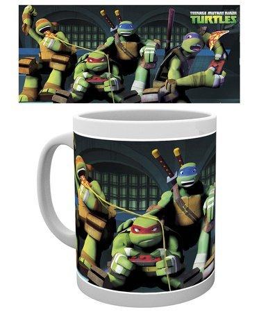 GB Eye Gaming Teenage Mutant Ninja Turtles Becher, Mehrfarbig