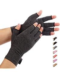 Duerer Arthritis Handschuhe - Compression Handschuhe f¨¹r Rheumatoide & Osteoarthritis - Handschuhe bieten arthritische Gelenkschmerzen Linderung der Symptome - M?nner und Frauen(Schwarz, L)