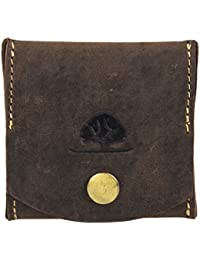 Greenburry Vintage Porte-monnaie bourse cuir 7,5 cm braun