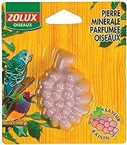 Zolux Birds Grapes Mineral Stone