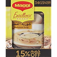 Maggi Soup Excellence with Mushroom Sachet 54g (3 Sachets)