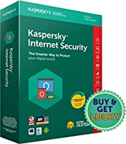 Kaspersky Internet Security 2018- Multi-Device- 3 Users, 1 Year (CD) (Chance to win Rs.1000 Amazon Gift vouche