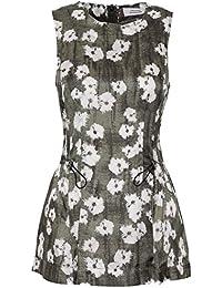 Dorothee Schumacher Mujer Bloom blouse Top True Caqui