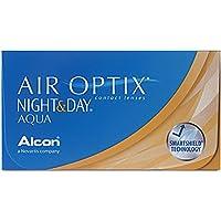 Air Optix Night & Day Aqua Monatslinsen weich, 6 Stück / BC 8.6 mm / DIA 13.8 / -2.5 Dioptrien