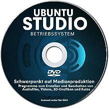 Betriebssystem UBUNTU STUDIO 2017 für PC & Notebook NEU auf DVD 32 oder 64 Bit ! Distribution mit Schwerpunkt auf Medienproduktion-PREMIUM ORIGINAL von STILTEC ©