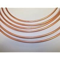 1m 6mm tubo de combustible de manguera de freno de cobre