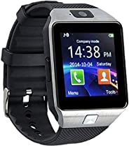 Speeqo DZ09 Wearable Touch Screen Bluetooth 3.0 Smart Watch for Boys and Girls (Silver)