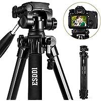 Tripode - ESDDI Trípode Liviano de Aluminio Compacto de 170cm para Cámara Digital SLR Canon Nikon Sony Olympus DV con Bolsa de Transporte