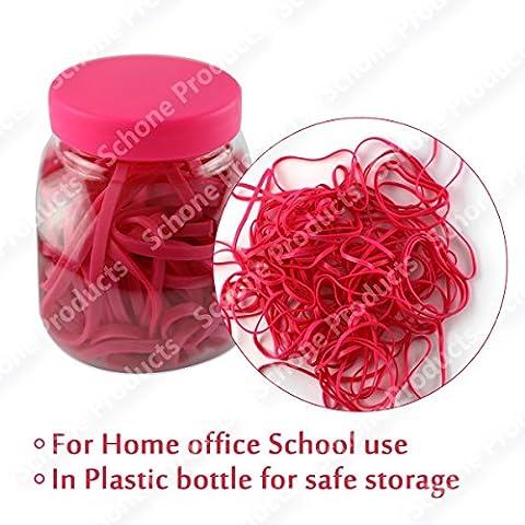 –Elastici in gomma in Plasitc bottiglia per stoccaggio sicuro
