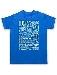 Craft Beer Types Drink Lover Typography Herren T-Shirt