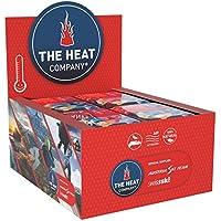 THE HEAT COMPANY Scaldapiedi - EXTRA CALDO - adesivo - Scaldini per piedi - 8 ore piedi caldi - pronti all'uso - autoriscaldante - puro naturale - per tutte le taglie - 40 paia