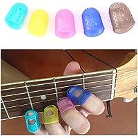 Instrumentos Musicales dedil Left Hand protector Guitarra dedil / 5pcs de
