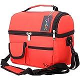 Tyidalin gran capacidad bolsa nevera bolsa isotérmica para familia de equipaje barbacoa Camping Picnic almuerzo almuerzo–8L