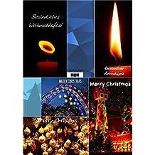 Weihnachtskarten zum Selberdrucken 1: 5 Karten (Klappkarten und Postkarten) (Big Pictures Cards)