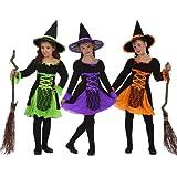 Atosa - Disfraz de bruja para niña, talla 10 - 12 años (8422259052623)