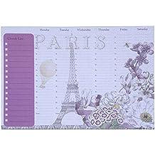 Tri-Coastal planificador semanal de escritorio Toujour Provence 30166–68143–Weekly Organizador