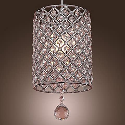 WYZQ Contemporanea Caduta Di Cristallo Luce Pendente In Stile Del Cilindro , 220-240V - Caduta Pendenti Una Luce