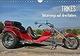Trikes - Unterwegs auf drei Rädern (Wandkalender 2018 DIN A4 quer): Ein Motorisiertes Dreirad (Monatskalender, 14 Seiten ) (CALVENDO Mobilitaet)