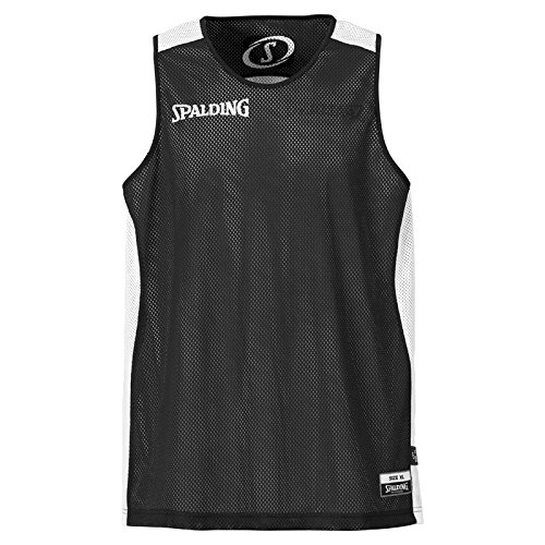 Reversible Set (Spalding Teamtrikots & Sets Essential Reversible Shirt, schwarz/weiß, XL, 300201402)