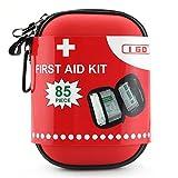 I GO Kit di pronto soccorso per la sopravvivenza e le emergenze (85 Pezzi) leggero, impermeabile, compatto e completo - perfetta per la casa, auto, Viaggi in, sport, camping, o qualsiasi altra attività all'aperto - I GO - amazon.it