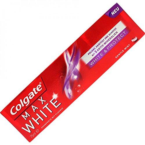 Colgate Zahncreme 75ml Max White White&Protect 3´er Set (3* 75ml)