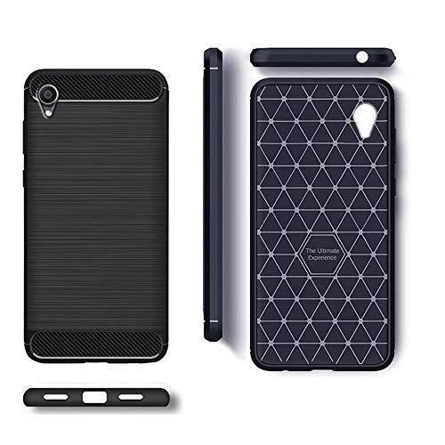 hot sale online 6988d 465cb ZAPCASE Back Cover Case Compatible for Asus Zenfone Max Pro M1 / Asus  Zenfone Max Pro M1 Cases & Covers (Carbon Fiber Rugged Armor Black Color)
