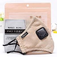 Women Men Anti Flu Masks Reusable Cotton Breathable PM2.5 Air Fog Respirator for Outdoor Half Face Masks -  One Size