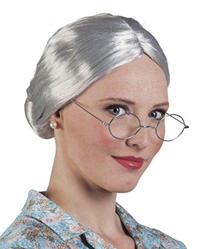 Boland 86180 Erwachsenenperücke Granny, One Size (Oma Kostüm Zubehör)