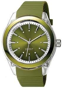 Esprit Damen-Armbanduhr green play Analog Quarz A.ES900642003