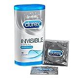 Durex Invisible Extra Fin Boîte de 10 Préservatifs