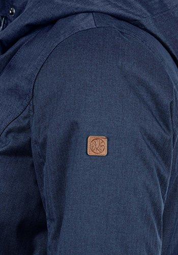 DESIRES Bella Damen Übergangsmantel Parka Jacke Mit Kapuze, Größe:XS, Farbe:Insignia Blue (1991) - 5