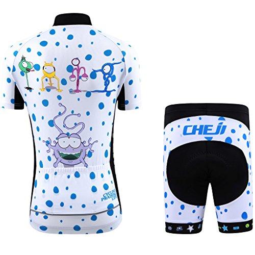 Zoom IMG-2 ateid maglia da ciclismo pantaloncini