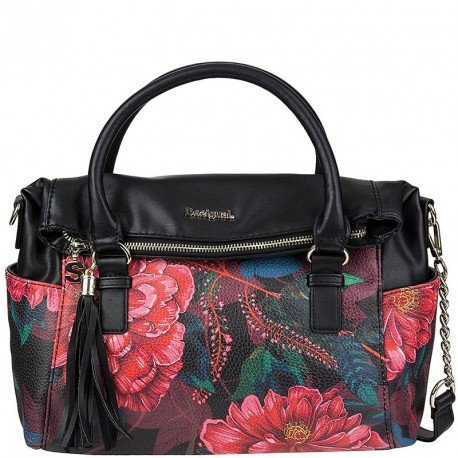 Desigual BOLS Loverty Paris Borsa a mano 33 cm