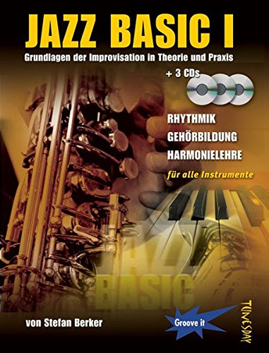 Jazz Basic Band 1 - Lehrbuch mit 3 CDs - Jazz lernen
