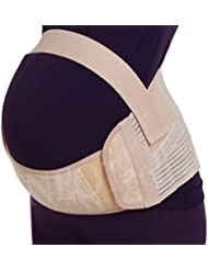 Maternity Pregnancy Support Belt / Brace - Back, Abdomen, Belly Band, Size XL, Colour Pink, NEOtech Care ( TM ) brand by Neotech Care