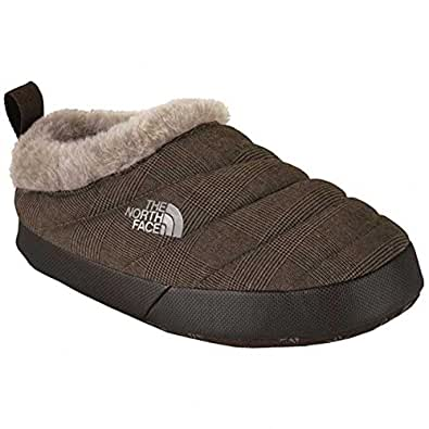 The North Face Women's NSE Tent Mule Faux Fur II - Brown/Demitasse Brown, X-Small