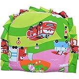 Guru Kripa Baby Products™ Presents New Born Baby Cotton Soft Fabric Musterd Seeds Rai Pillow For Baby Head Shaping Apple U Shape Takiya Detachable Mustard / Rai Seed Pouch For Easy Washing Feeding & Nursing Baby Neck Pillow (Green)
