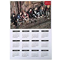 ZZbaixinglongan Many Types BTS Bangtan Boys Blackpink Love Yourself Her/Tear/Answer 2019 Wall Calendar Poster Kpop Photo Bangtan Boys Wallpaper Calendar Yearly(A3 13)