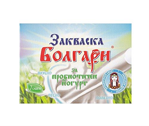Joghurtferment für probiotischen Joghurt - 7 Beutel gefriergetrockneter Starterkulturen thumbnail