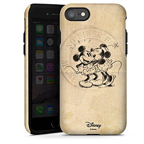 Apple iPhone 8 Plus Silikon Hülle Case Schutzhülle Disney Minnie & Mickey Mouse Geschenke Merchandise Tough Case glänzend