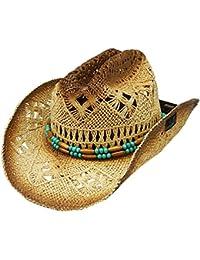 Amazon.es  sombreros vaqueros - Modestone   Sombreros cowboy ... 9128de38abd