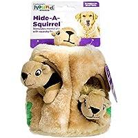 Juguete de peluche para perros, juguete duradero para mascotas Squeak, esconde un juguete interactivo para perros pequeños / medianos