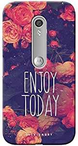 Fashionury Printed Back Case Cover For Moto X Play-Print8922